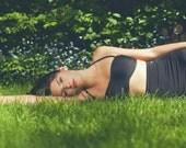 Black Bandeau TOP ONLY - Swimsuit - Swimwear - Women Bathing suit - Bikini