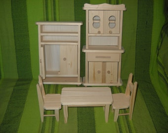 kitchen furniture waldorf toys natural wood