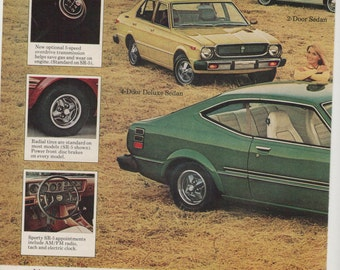 70s car ad etsy for Garage ad agde