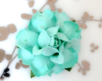 Aqua Wedding, DIY Wedding Favors, Favor Boxes, Bridal Shower Favors, Party Favors, Paper Flowers Wedding, Paper Flower Backdrop, Place Cards