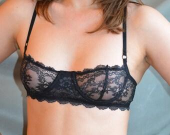 Women Sleepwear & Intimates Bras The Lacey Floral Underwire Bra MADE TO ORDER