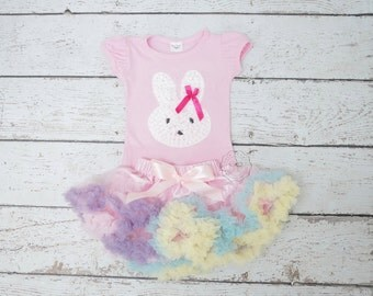 Girl Easter outfit- baby Easter outfit- girl easter dress - Bunny Outfit- easter baby girl- Easter tutu- Easter Outfit- Easter dress-