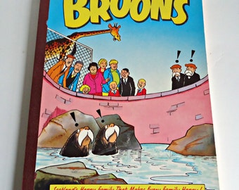 The Broons Book Scotland's Happy Family Comic Annual 1989