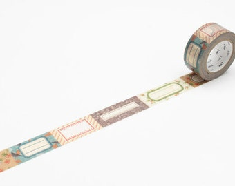 mt Washi Masking Tape - 20 MM LABEL