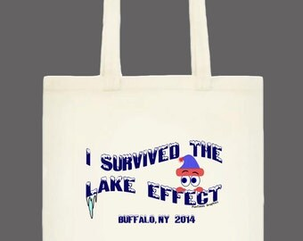 I Survived the Lake Effect Tote Bag (3 kinds)