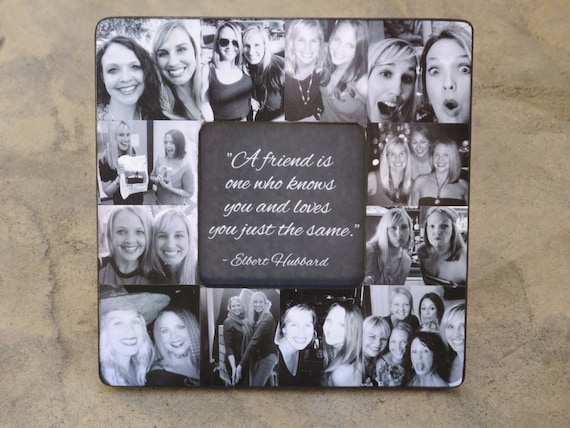 Items similar to best friends photo collage frame for Best place to get picture frames