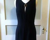 Vintage Alchemy 1980's Vampira Dress