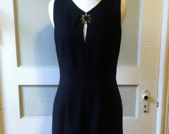 Vintage Alchemy 1980's Vampira Dress