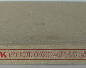 vintage book, New York Photographs 1850-1950, 1982, large format from Diz Has Neat Stuff