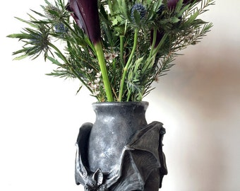 Vampire Bat Vase