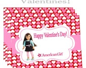 AMERICAN GIRL DOLL of the year 2015 Grace Thomas Happy Valentine's Day Printable Instant Download Valentines School