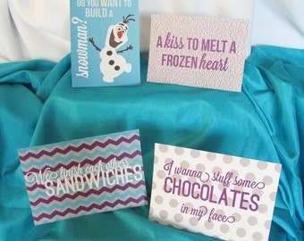 Frozen Birthday Signs, Frozen Birthday Party Signs, Olaf Sign