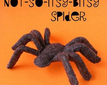 Felt Spider Pattern (PDF Digital pattern, Halloween decoration)