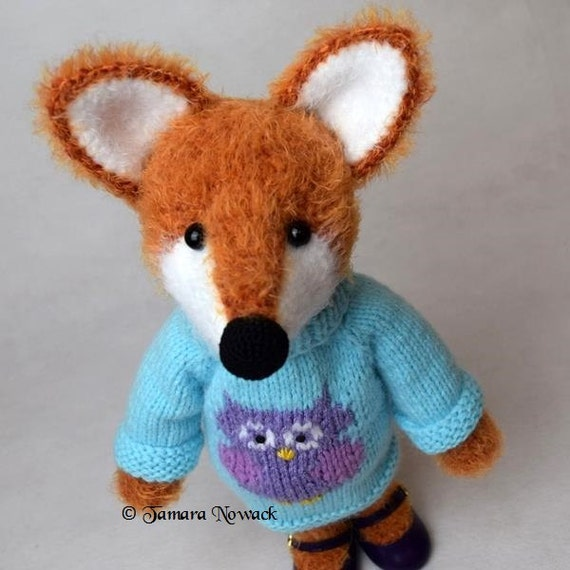 Amigurumi Foxy : Lissy the Foxy Girl amigurumi PDF ebook crochet by Nowacrochet