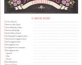 12 Month Wedding Checklist - Wedding Planner Checklist Printable PDF - BEST SELLER!