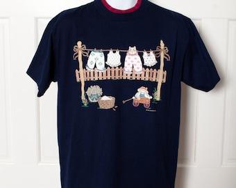 Cute 90s Cat Tshirt