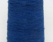 Spool of royal blue elastic string