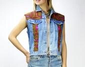 Shipibo Vintage 101 Denim Vest