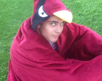 Cardinal Snuggle Blanket for Cuddle, Movie, and Game Time