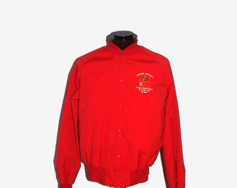 Mens Newark Brewery Anheuser Busch Beer MVP Jacket by Taylor Jackets Size M