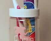 Dirt Bikes And More.jar Personalized Plastic Mason Jar