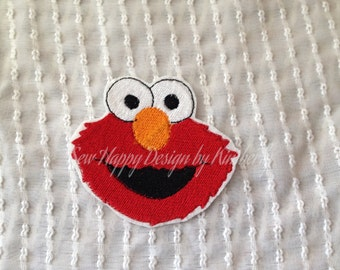 Choice of Monster Inspired Iron on Appliqué Patch