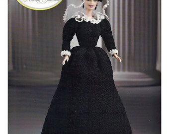 First Ladies of America Collection Rachel Jackson Fashion Doll  Crochet Pattern  Annies Attic  8508