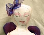 Art Doll Purple Angel