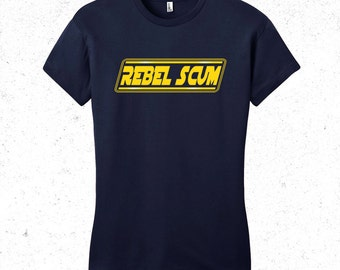 "Star Wars T-Shirt ""Rebel Scum"" Women's"