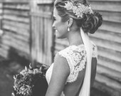 Bridal Headpiece - Swarovski Crystal comb - Made to Order