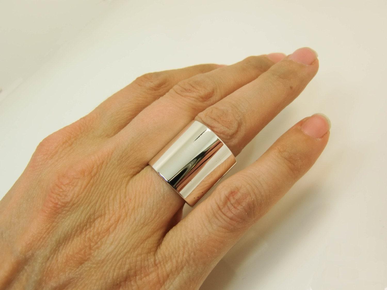 sterling silver ring extra wide silver band super wide. Black Bedroom Furniture Sets. Home Design Ideas
