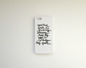 iphone 5 case: come thou fount of every blessing, tune my heart to sing thy grace