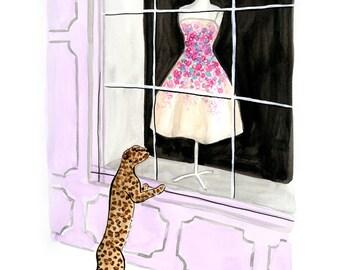 Jaguar Window Shopping