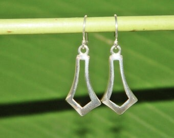 Sterling Silver Earrings, Small Earrings, Short Dangle Earrings