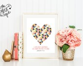 INSTANT DOWNLOAD, Geometric Heart, Proverbs 17:22, No. 448