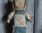 Primitive Folk Art Early Style Antique Quilt Doll Tutorial E-Pattern  Sweetpeas Primitives