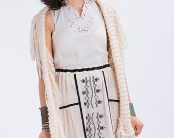 Gauzy maxi Skirt with Folk embroidery,Boho skirt,Gypsy skirt,Hippie skirt,Boho wedding dress,Folk skirt,Woodland wedding,Prairie