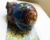 Healing Energy Dome Orgone // Purple and Blue Vibrations