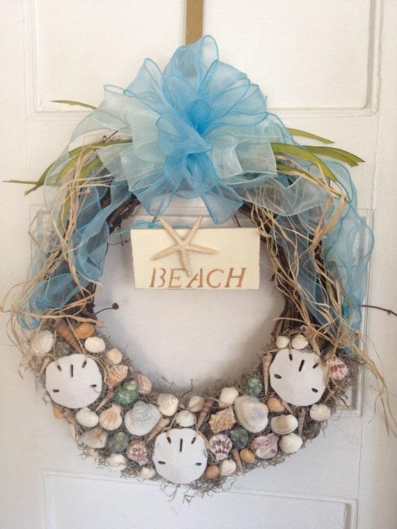Summer Shell Wreath