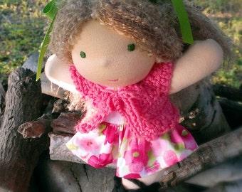 Waldorf Doll - 8 inch Waldorf Doll -  Waldorf Doll Clothes