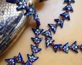 Sale  ASIAN ENAMEL and CLOISONNE Beaded women's necklace that is both gorgeous and unique woman's
