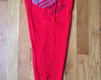 vintage adidas leggings mens size small deadstock NWT 1988 olympics made in USA