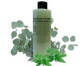 16oz Eucalyptus and Mint Revitalizing Body Soak, Bubble Bath, Spa Soak, Lotions and Potions
