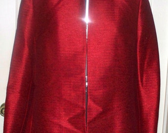 1990s KASPER Suit Jacket  - Vintage - Red - Size 16P