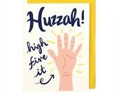 Huzzah Card