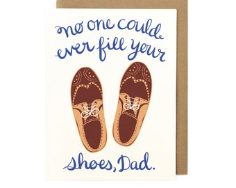 Shoes Dad Card
