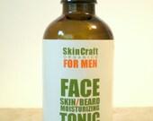 Men's Face Oil w/ Argan - Jojoba - Tamanu - Beard Oil / Pre Shave Oil - All Natural -  30 ml.