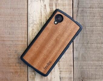 Wood Nexus 5 Case, Rosewood Nexus 5 Case, Wooden Nexus 5 Case - FFNR5