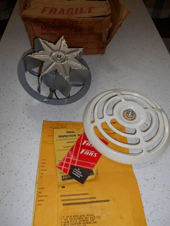 Vintage 50 s Exhaust Fan  Fasco Ventilating Kitchen Bathroom Vent Fan. Vintage 50 s Exhaust Fan Fasco Ventilating Kitchen