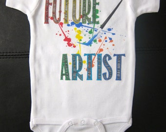 FUTURE ARTIST funny cute novelty for boy or girl drawing art